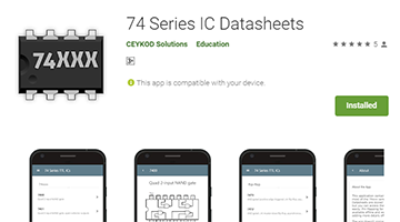 74 Series IC Datasheets