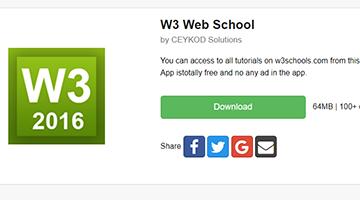 W3 Web School